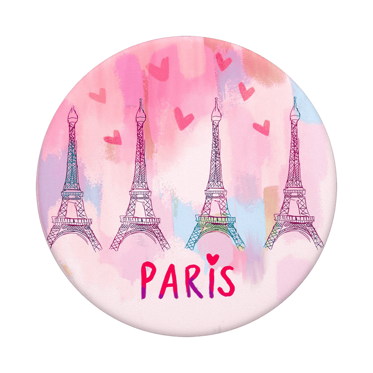PopSockets Swappable PopGrips Paris Love