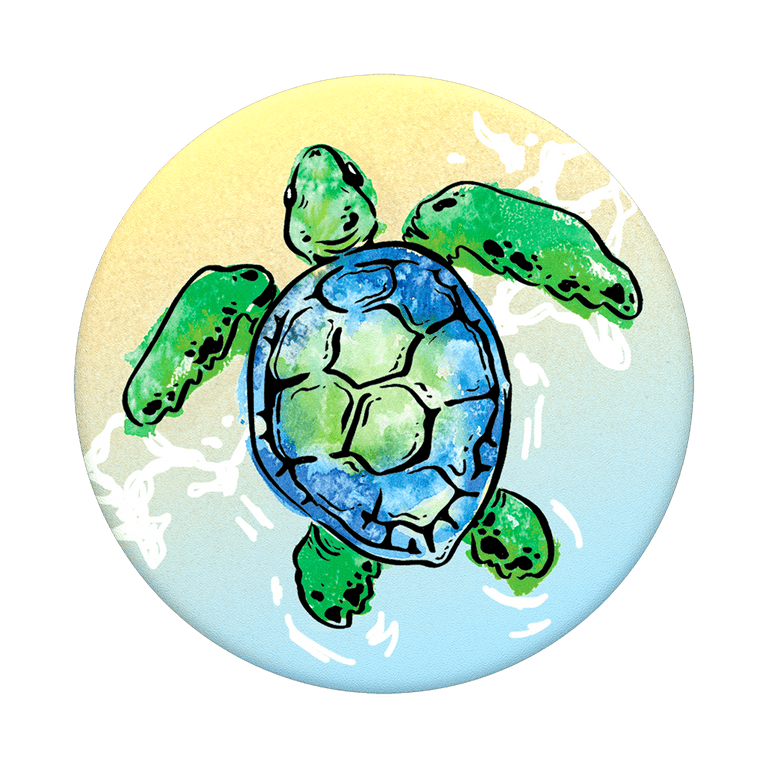 PopSockets Swappable PopGrips Tortuga