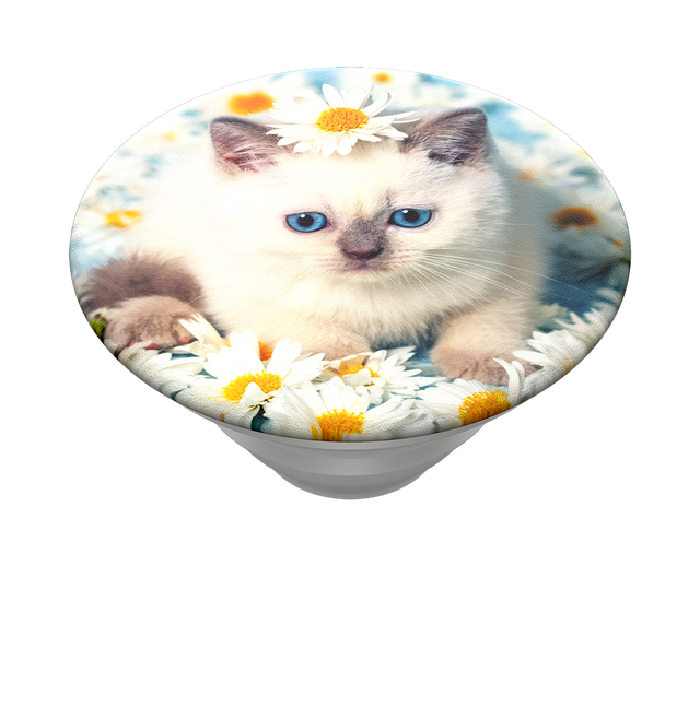 Popsockets Swappable PopTops Purr-fect Flower