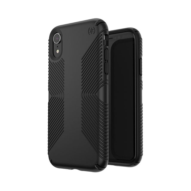 Speck Presidio Grip Phone Case For iPhone X - Black