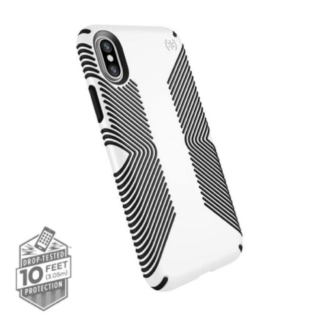 Speck Presidio Grip Phone Case For iPhone X - White