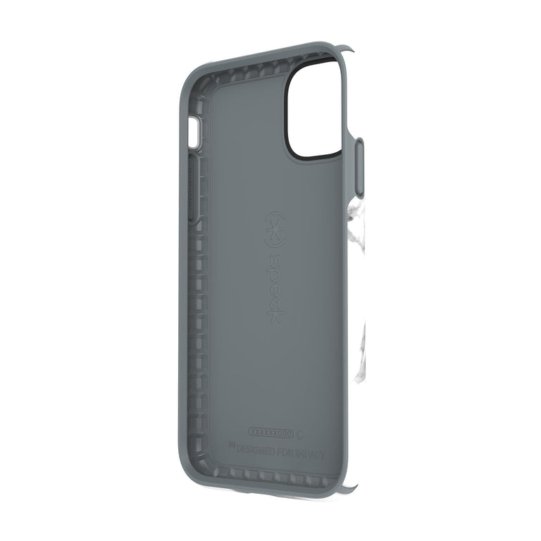 Speck Presidio INKED Phone Case iPhone 11 - Carrara Marble White