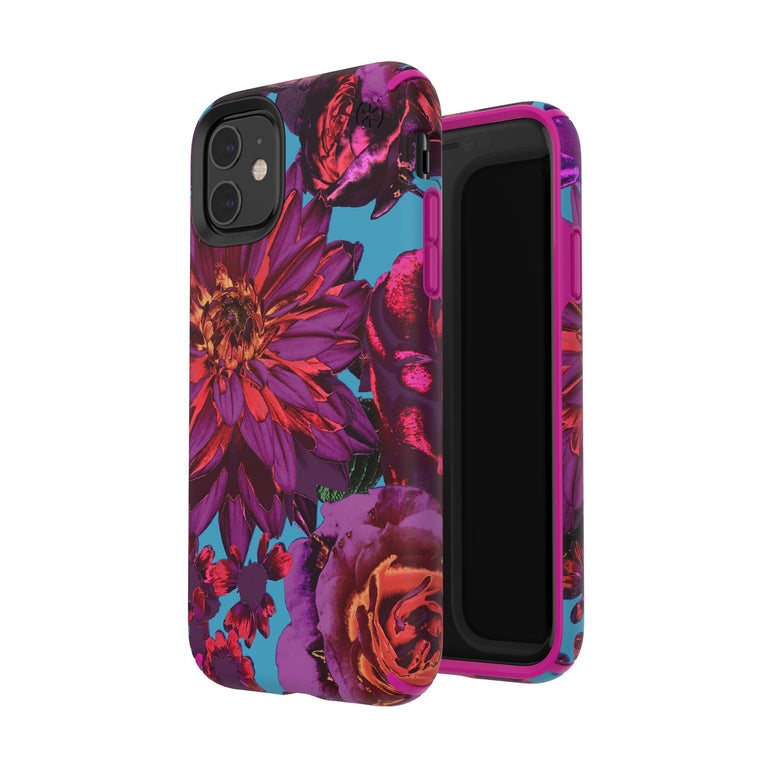 Speck Presidio INKED Phone Case iPhone 11 - Hyperbloom Matte