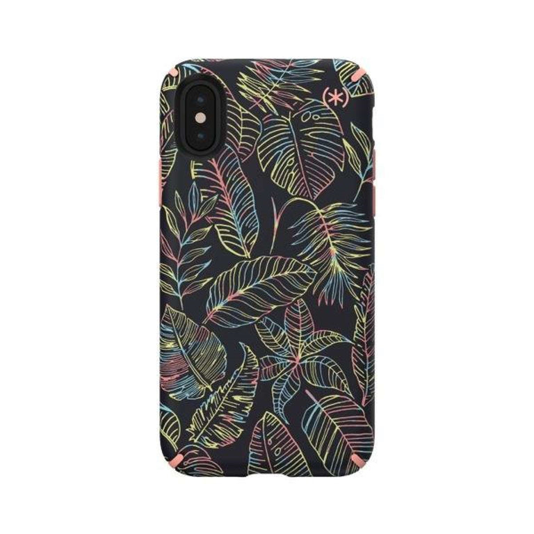 Speck Presidio INKED Phone Case iPhone X - Sun Dyed Leaves/Sunset Peach
