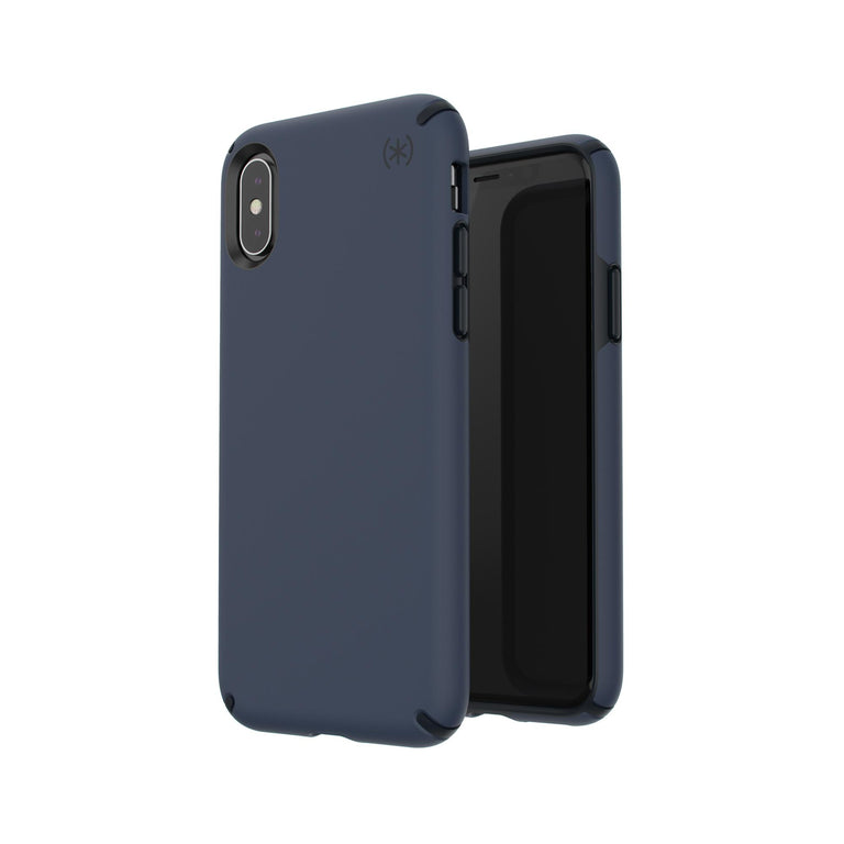 Speck Presidio Grip Phone Case For iPhone X - Eclipse Blue/Carbon Black