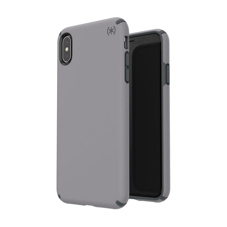 Speck Presidio Pro Phone Case For iPhone XS Max - Filigree Grey/Slate Grey