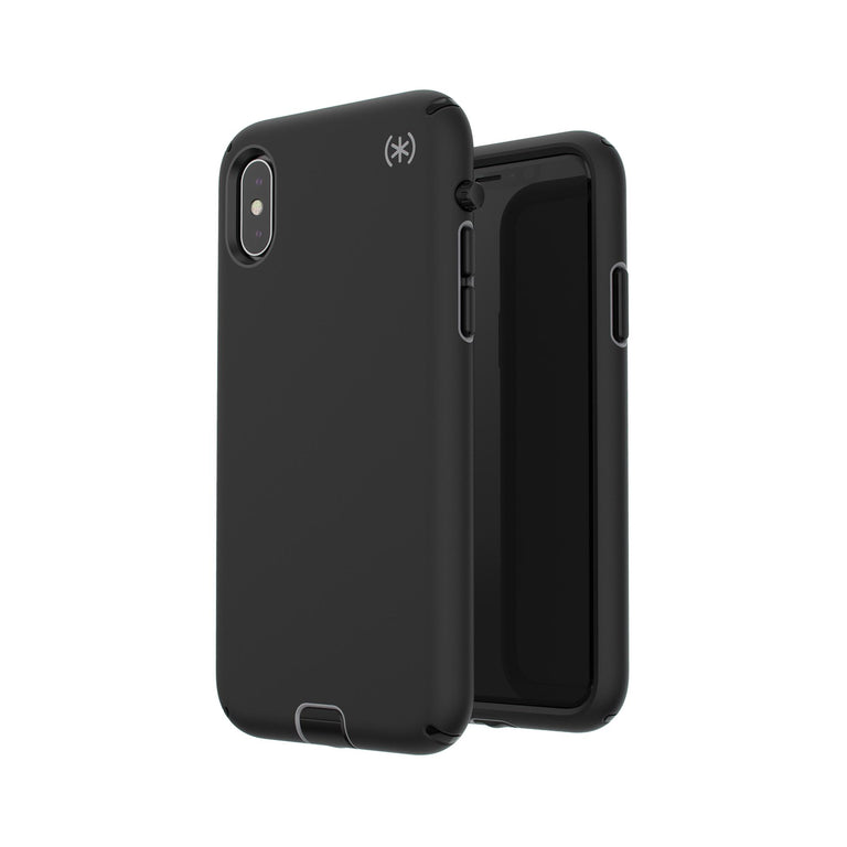 Speck Presidio Sport Phone Case For iPhone X - Black/Gunmetal Grey/Black
