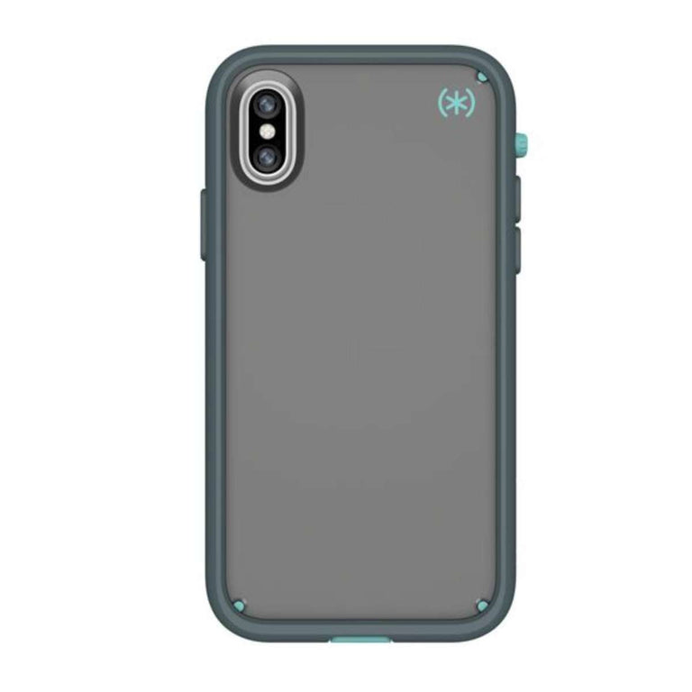 Speck Presidio Ultra Phone Case For iPhone X - Teal Grey
