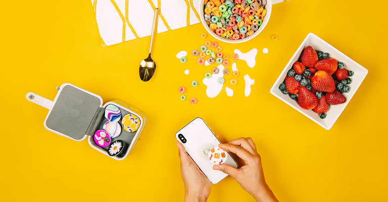 PopSockets Swappable PopTops Gilded Glam