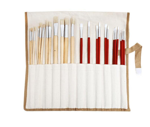 Paint 'N Crafts 24 Piece Paint Brush Set