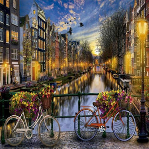 Paint 'N Crafts Amsterdam Canals - DIY Paint By Numbers