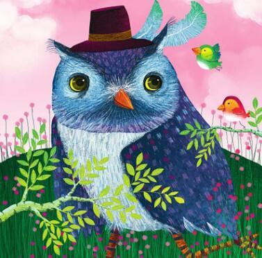 Image of Paint 'N Crafts Mr Owl - Diamond Painting Kit