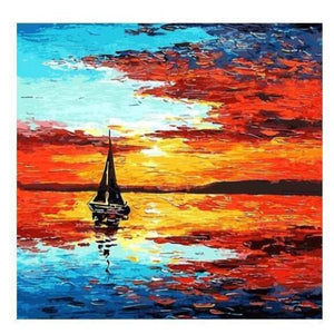 Paint 'N Crafts Seascape - Paint By Numbers Kit