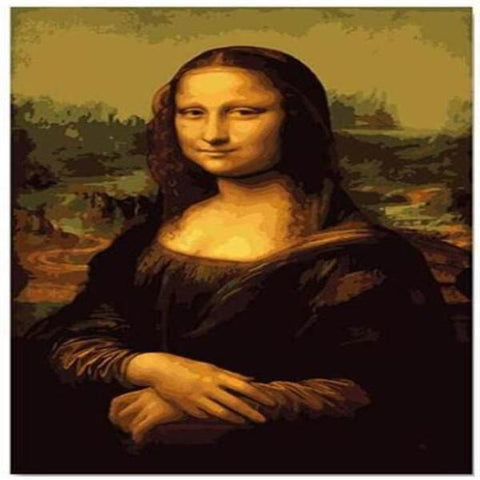 Image of Paint 'N Crafts The Mona Lisa - Paint by Numbers Kit