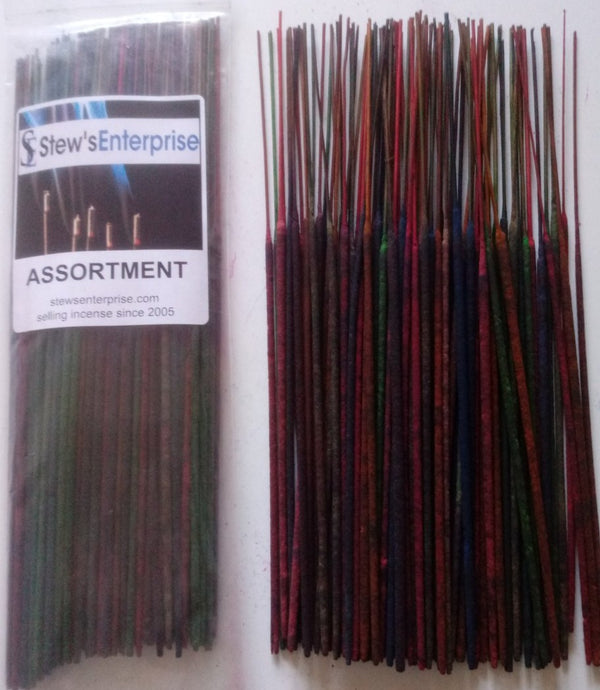 Assorted 11 inch  Incense Sticks---100 Sticks