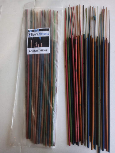 Stews Enterprise Assorted 19 Inch Jumbo Incense Sticks - 30 Sticks