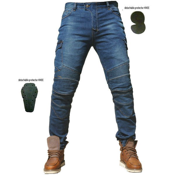 Jeans Leisure Motorcycle Men's Outdoor Pants