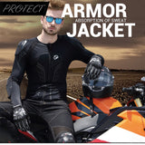 SCOYCO Motorcycle Armor Jacket With Bottom