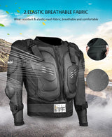Motorcycle Jacket Armour