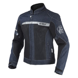 Summer Mesh Motorcycle Jeans Jacket