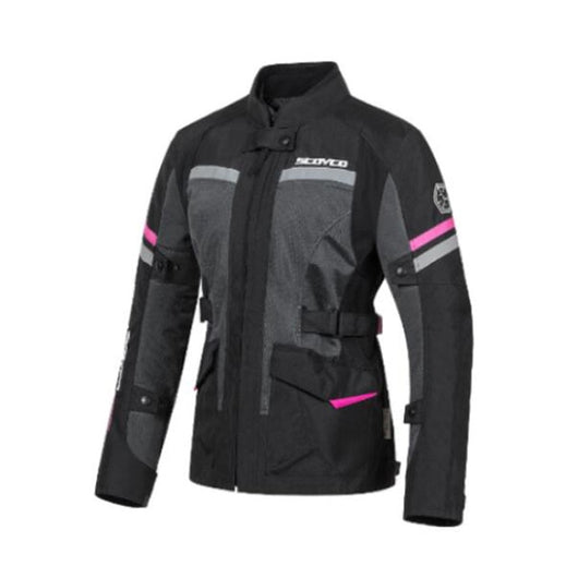 Scoyco Women Breathable Motorcycle Jacket With Waterproof Liner