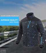 DUHAN Winter Riding Jacket with Heating Vest
