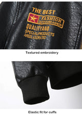 Motocross Retro Vintage Leather Jacket