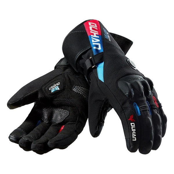 Duhan Windproof Motorcycle Gloves With Thermostat Heater