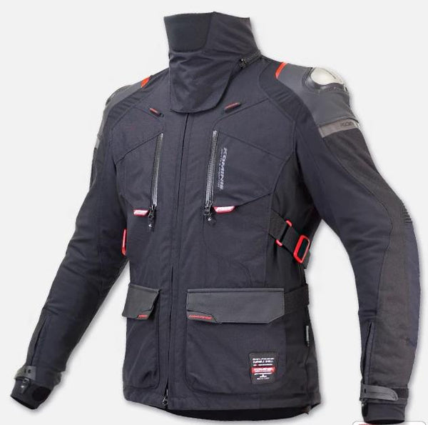 Motorcycle Protective Windproof Waterproof Jacket With Neck Protector