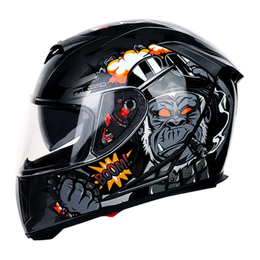 Riding Dual Visor Motorcycle Helmet