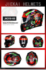 Full Face Graphic Helmet