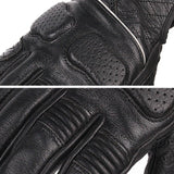 SCOYCO Perforated Leather Motorcycle Gloves