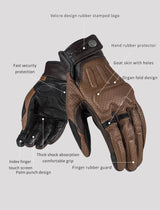 LS2 Motorcycle Riding Gloves MG-004