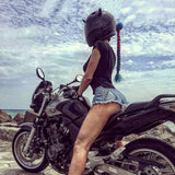 Women Motorcycle Helmet Braids