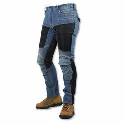 Men's Off-road Outdoor Jean Pants With Protective Equipment - Pride Armour