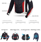 Men Motorcycle Protective Riding Jacket - Pride Armour