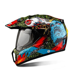 Dirt Bike Full Face Motorcycle Helmet DOT Certified - Pride Armour