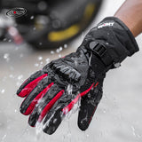 Waterproof Windproof Motorcycle Full Gauntlet Safety Gloves - Pride Armour