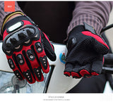 Motorcross Full Finger Gloves - Pride Armour