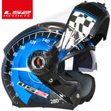 LS2 FF370 Flip Up Motorcycle Helmet