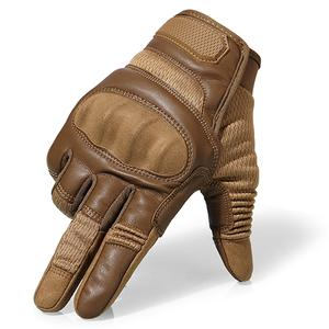 Leather Full Finger Gloves