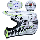 Motocross Professional Off-road Motorcycle Helmet with Goggles DOT - Pride Armour