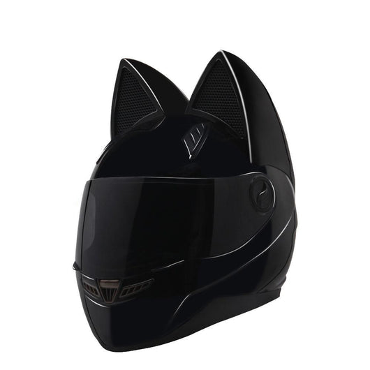 Women Motorcycle Helmet Cat Fashion - Pride Armour