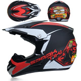 Motocross Professional Off-road Motorcycle Helmet with Goggles DOT - Pride Armor