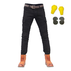 Moto Jeans Men Protective Gear Riding Trouser - Pride Armour