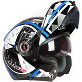 LS2 FF370 Dial Flip-Up helmet