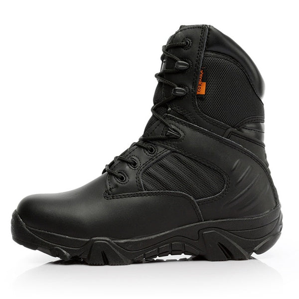 Combat Style Motorcycle Boots