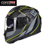 LS2 FF328 Full Face Motorcycle Helmet