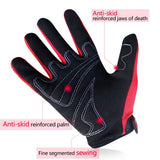 SCOYCO Motorcycle Gloves Microfiber Knuckle Breathable Designed Moto gloves Adjustable Cycling Riding MBX Scooter Gloves