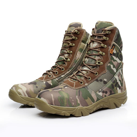 Special Force Tactical Motorcycle Boots